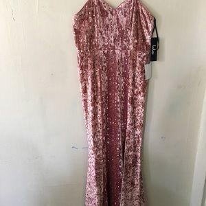 Sequen maxi dress